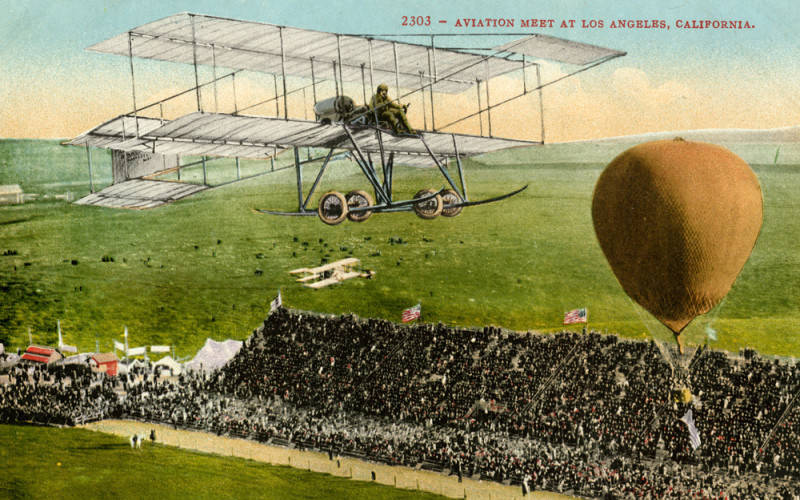 Those Daring Young Men: The 1910 Los Angeles International Aviation Meet